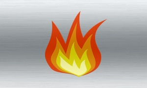 Fireplace live HD TV: Relax with romantic flames & soothing sounds