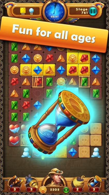 Legend & Jewels - Puzzle Quest screenshot-0