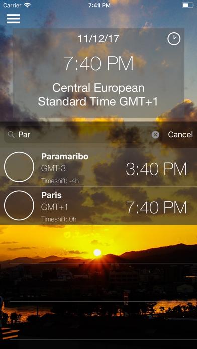 World Time screenshot two