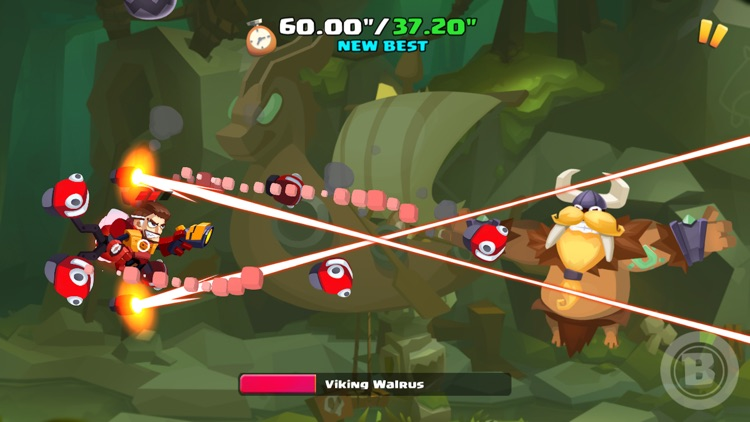Shoot the Dragons - Top Multiplayer SIDEWAYS SHOOT