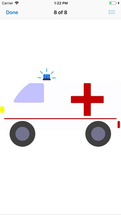 Ambulance Stickers screenshot-8