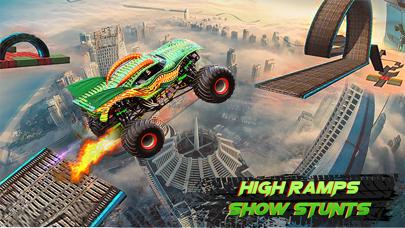 Monster Truck Stunt Racing mtdのおすすめ画像1