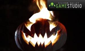 Halloween Fireplace Video Wallpaper