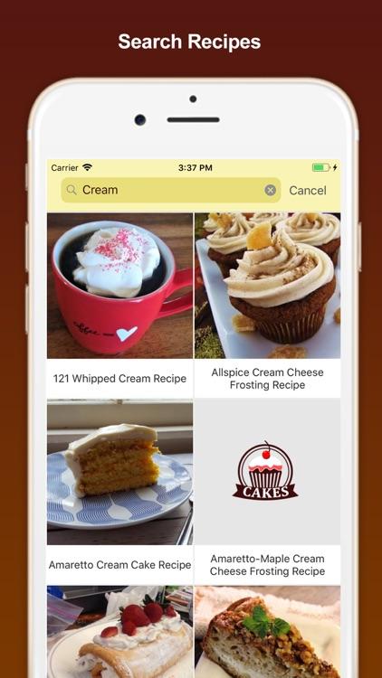 Best Homemade Cake Recipes screenshot-6