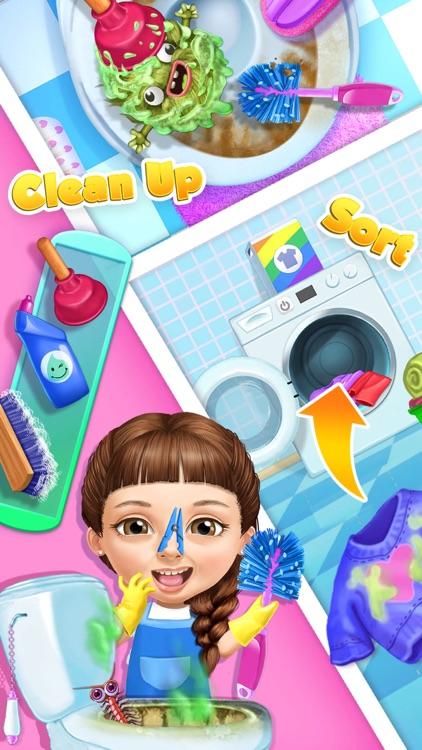 Sweet Baby Girl Cleanup 5 - No Ads screenshot-3
