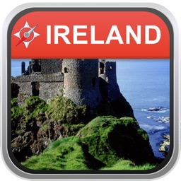 Offline Map Ireland: City Navigator Maps