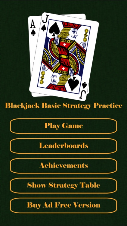 Blackjack Basic Strategy Practice