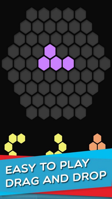 Dark Hexagon - Block screenshot 2
