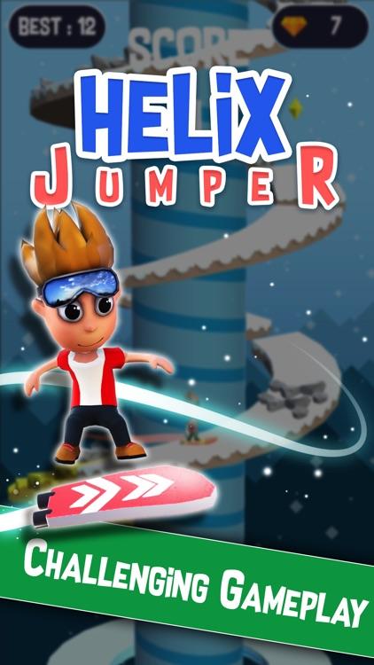Helix Jumper - Spiral Tower