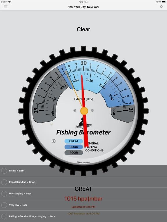 Fishing Barometer screenshot 7