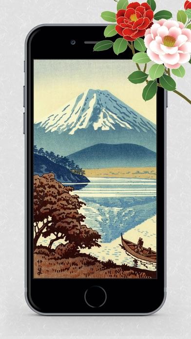 浮世絵壁紙 - 美しい日本画ギャラリーのおすすめ画像10