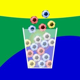 100 Soccer Balls - Brazil