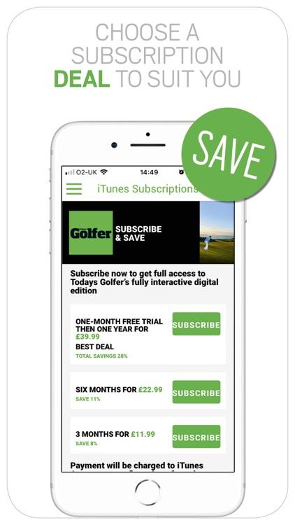 Today's Golfer: News & Stories screenshot-9