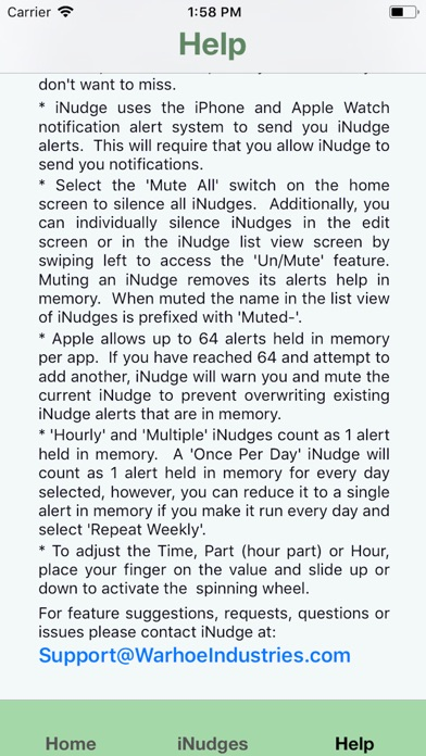 iNudge screenshot #9