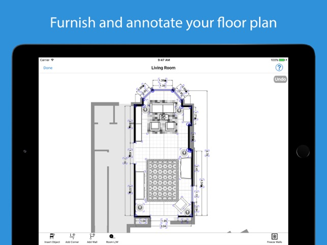 Magicplan on the app store for Floor plan creator app for ipad