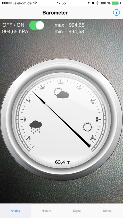 Barometer plus Altimeter screenshot-1