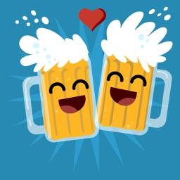 Beer Stickers and Emojis I Love BeerBeer Stickers