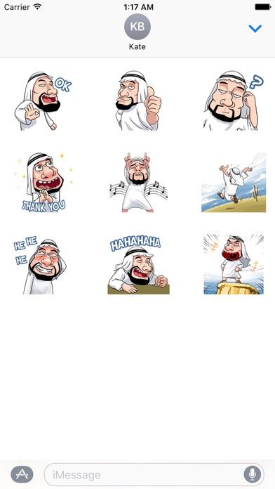 Arabian Style Animated Sticker screenshot 2