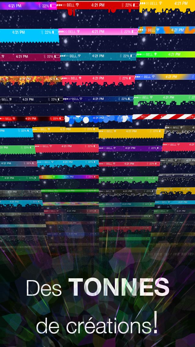 Screenshot #2 pour Status Art - Des effets de barre d'état