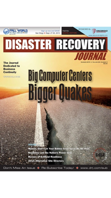 Screenshot for Disaster Recovery Journal in United Arab Emirates App Store