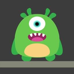 Monster Jump Up - Rise blocks