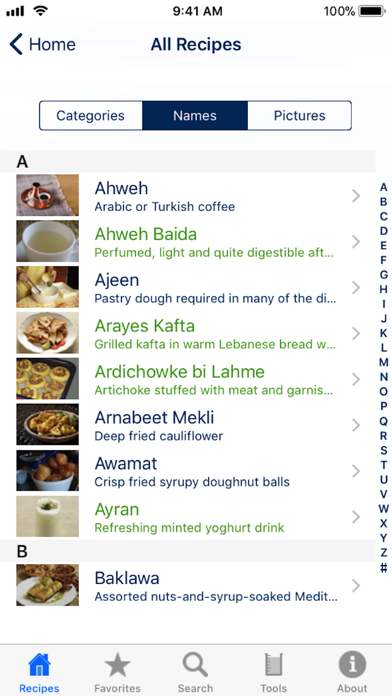 100 Lebanese Recipes review screenshots