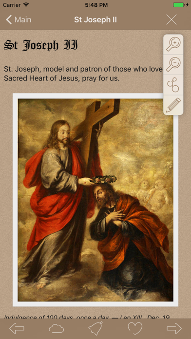 Catholic Short Prayers Lite screenshot three