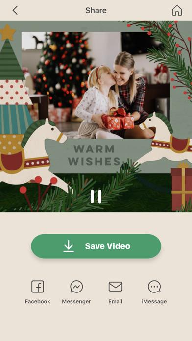 Pine 3D Greeting Cards Screenshot