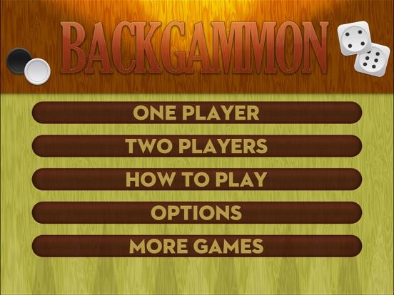 Backgammon ∙ iPad