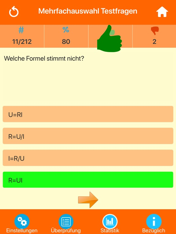 Die Physik Quiz screenshot 8