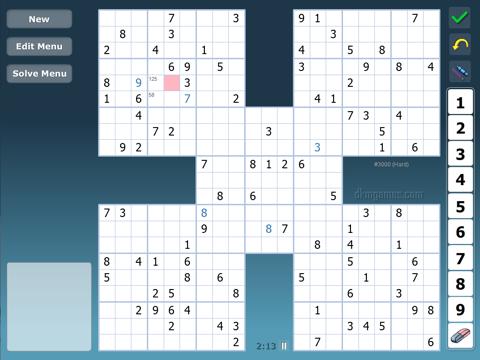 dkm Samurai Sudoku - náhled