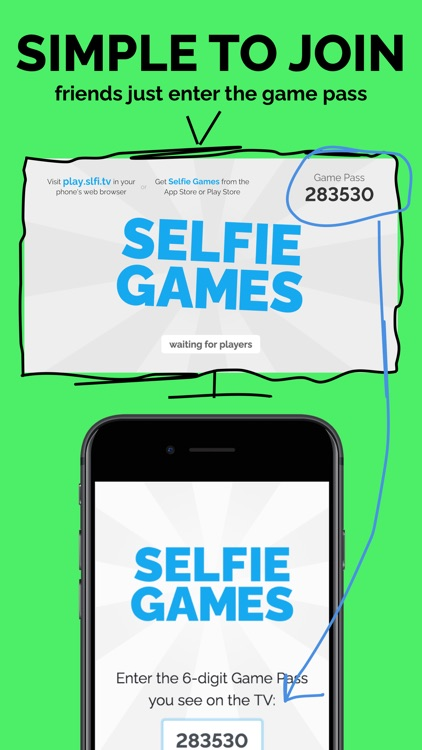Selfie Games: A TV Party Game screenshot-6