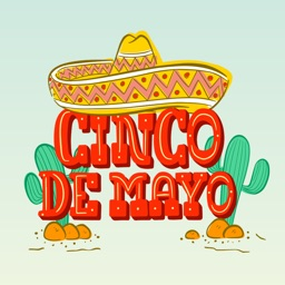 Cinco De Mayo Mexico Stickers