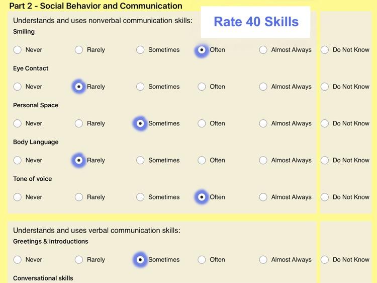 Pepi Assessment- Social Skills screenshot-4
