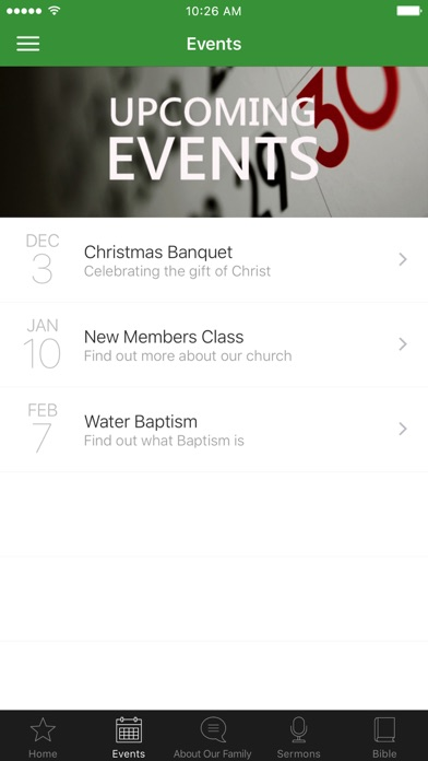 Falconridge Family Church screenshot 2