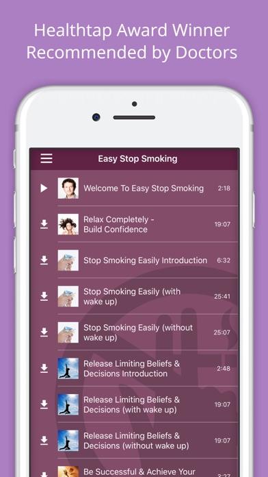 Easy Stop Smoking review screenshots
