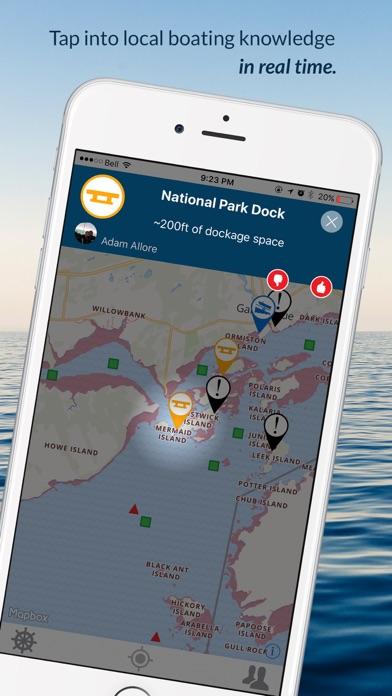 Wavve Boating-Easy Marine GPS Screenshot