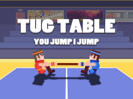 Скачать игру Funny Tug The Table-Jump Game