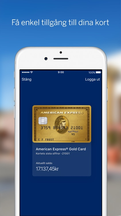 Amex Sverige screenshot-1
