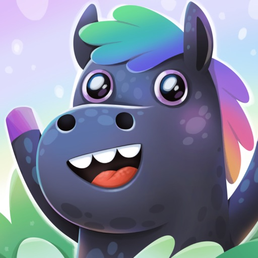 Rainbow Horse Stickers