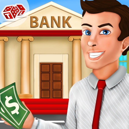 Bank Cashier Manager Game iOS App