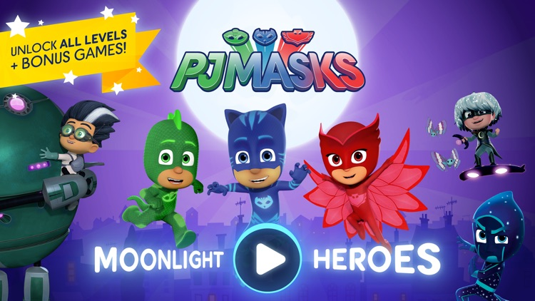 PJ Masks: Moonlight Heroes screenshot-0