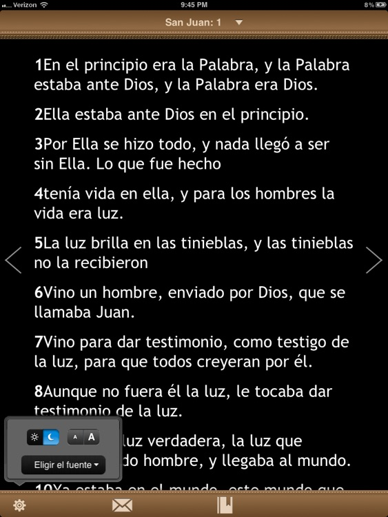 La Biblia Catolica para iPad screenshot-1