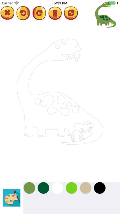 Coloring Book for Kids HD screenshot-7