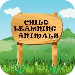 Child Learning Animals