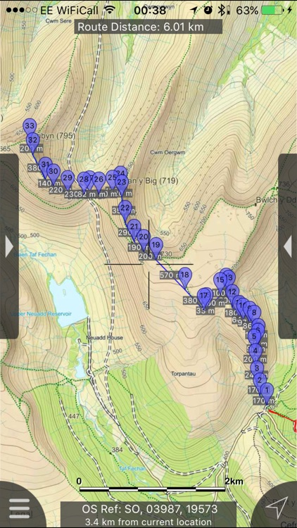 Brecon Beacons Maps Offline screenshot-0