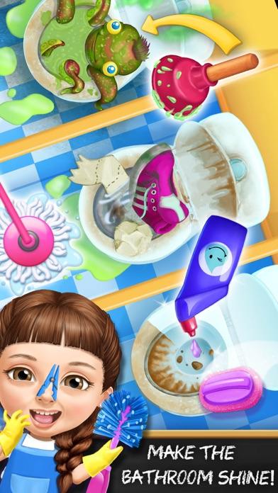 Sweet Baby Girl School Cleanup screenshot 2