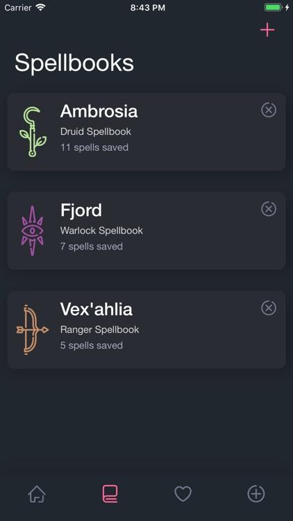Spellbooks screenshot-4
