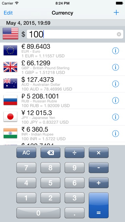 Currency converter - UpToDate