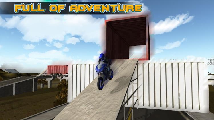 Electrifying Moto Racing Stunt